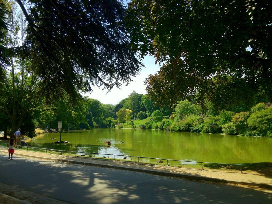 Le parc Montsouri